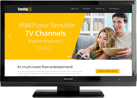 What is IPTV - India Tamil Channels